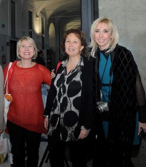 Con Maria Grazia Barone, Maria Elena Curzio e Laura Elisa Turri.