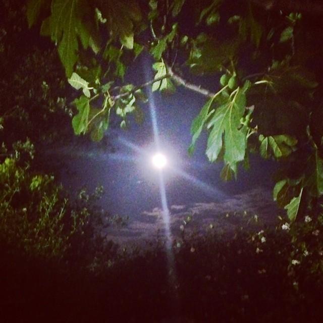 La luna a Carovigno
