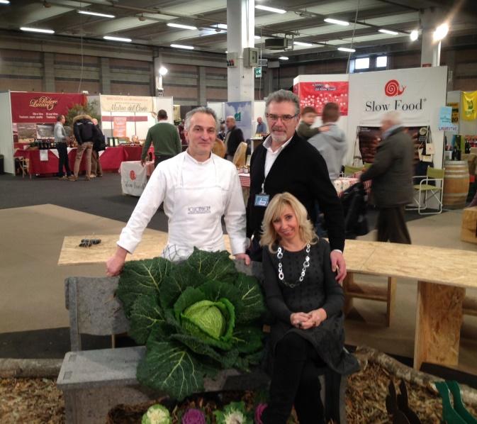 Con Giovanni Bazzano, esperto agroalimentare e lo chef Alessandro Varenna