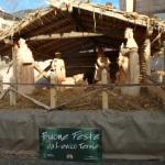 Presepe di legno a Levico Terme