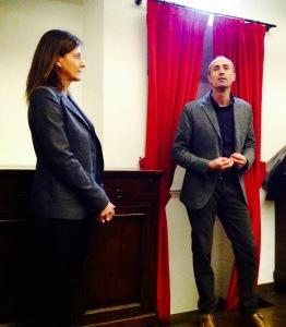 Ugo Tassinari e Paola Rossi