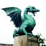 Il drago, simbolo di Lubiana