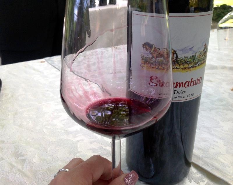 Stramaturo 2015, vino dolce 100% Primitivo