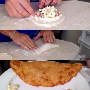 Pizza fritta Masardona