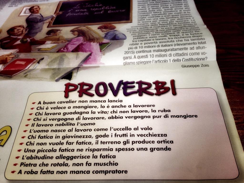 Calendario di  Frate Indovino...