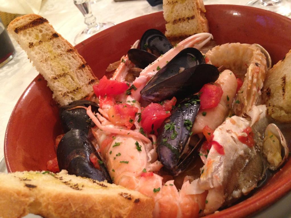 Brodetto di pesce alla Pinetese