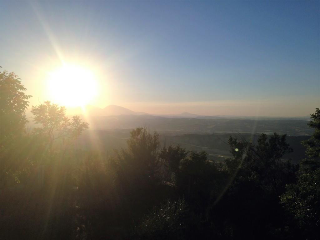 Vista da Pineto