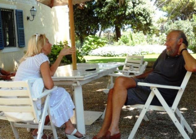 Cinzia Tosini con Antonio Terni