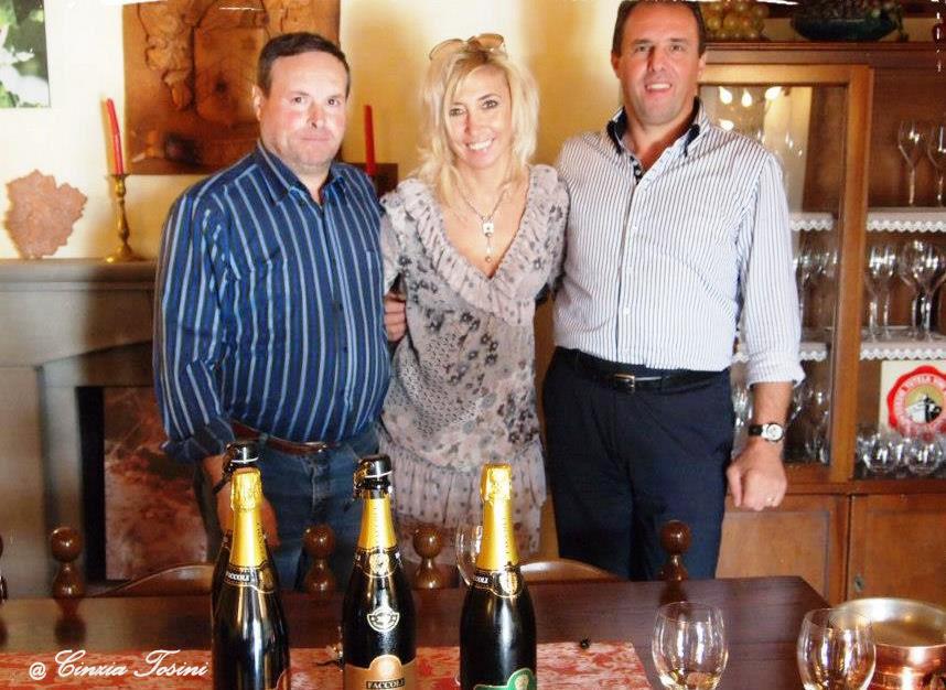 Con Gian Mario e Claudio Faccoli