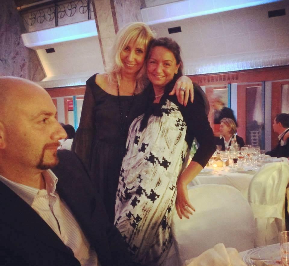 Con Michela Pierallini