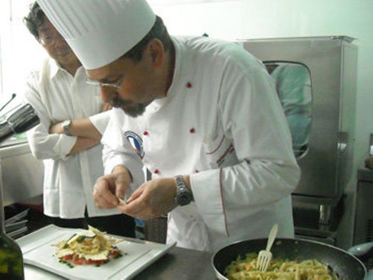 Chef Giorgio Perin