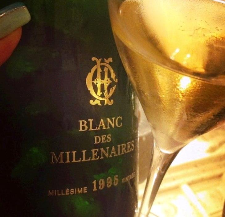 Blanc Des Millenaires Millésime 1995 Vintage - Charles Heidsieck