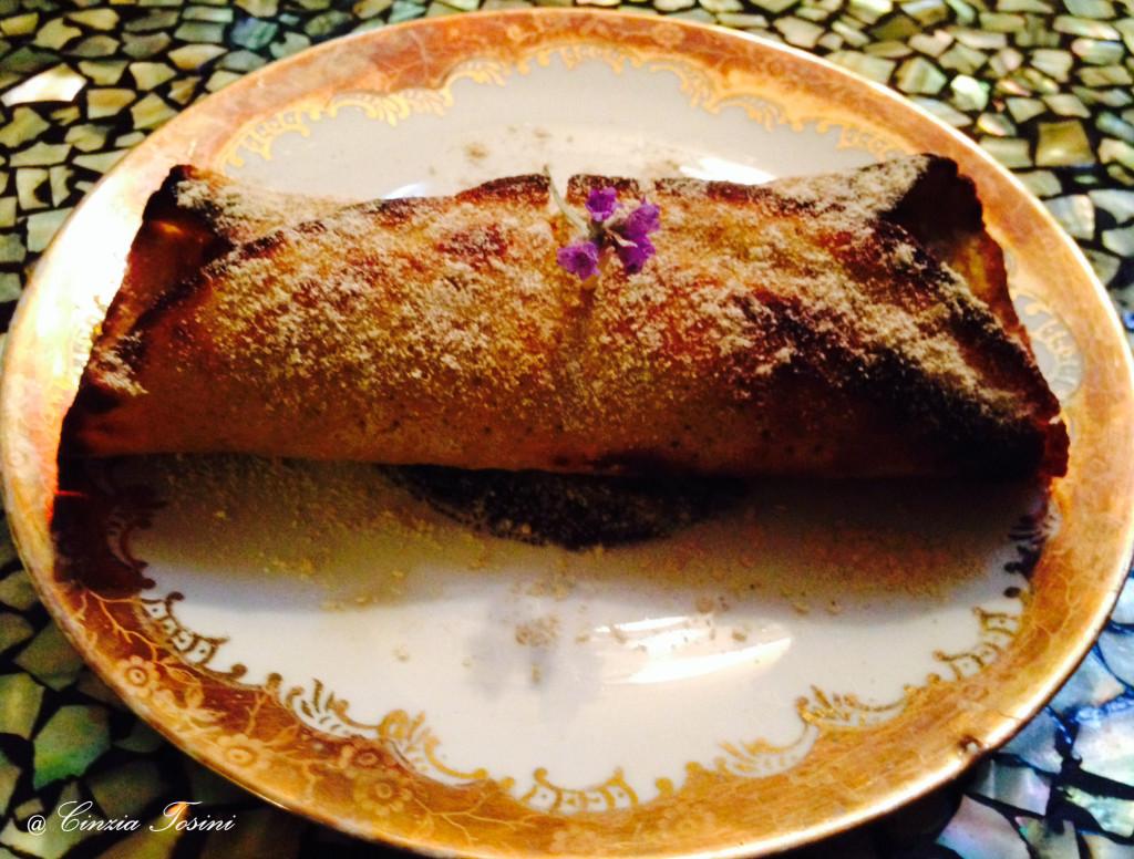 Omelette di Farinaccio di Riso e Miele