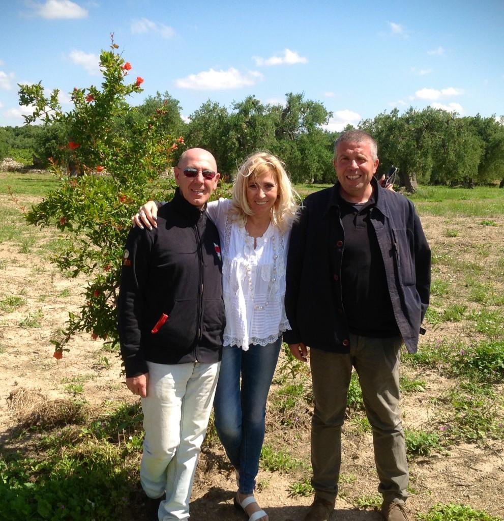 Con Paolo Barberio Az. Agr. Campanello  Raffaele Rochira Le Grotte di Sileno