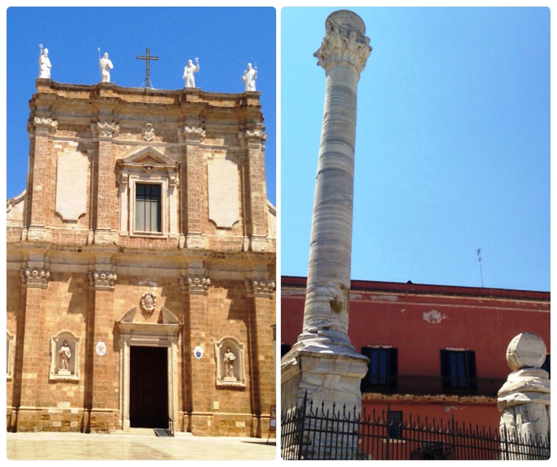 Il Duomo e le Colonne di Brindisi
