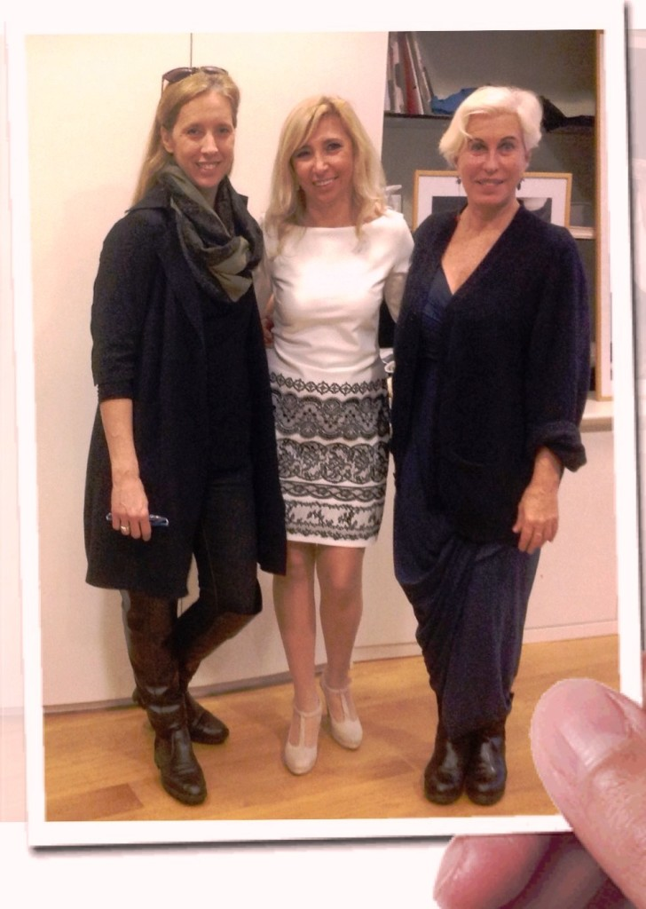 Chiara Boni e la sua collaboratrice Monica Galleri