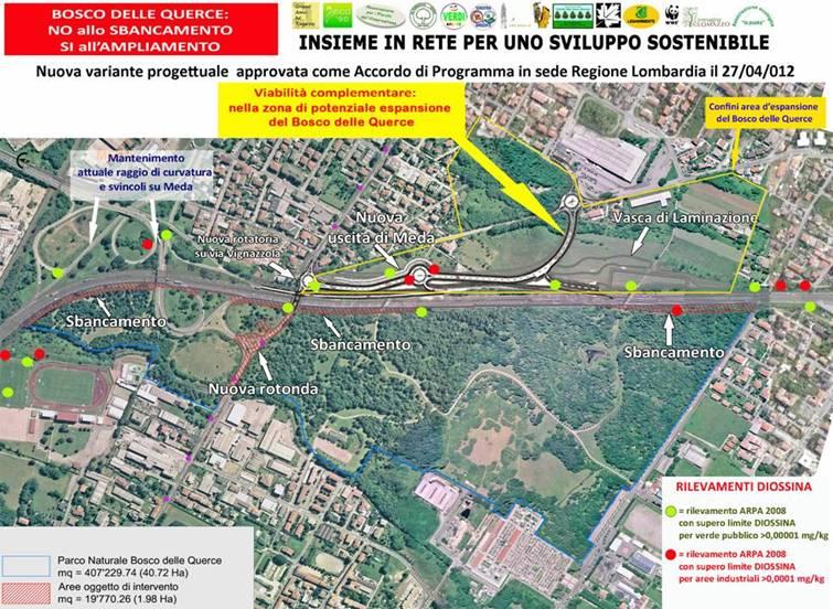 Foothills strekning av Seveso