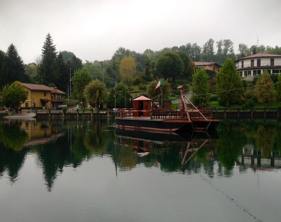 Traghetto di Leonardo - Imbersago