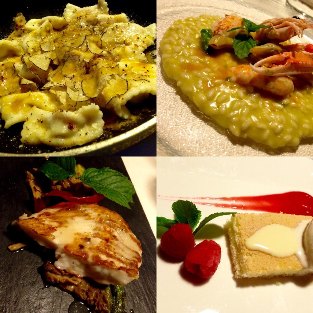 I piatti dello chef Pier Milesi