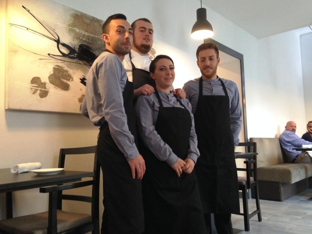 Brigaden av Restaurant Materia
